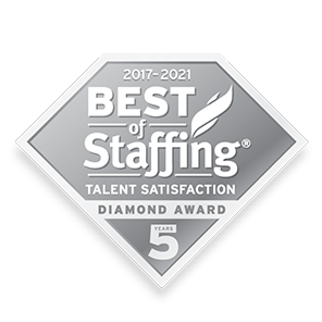SIA Best of Staffing Talent Diamond Award 2021