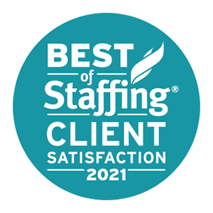 ClearlyRated's Best of Staffing Client award