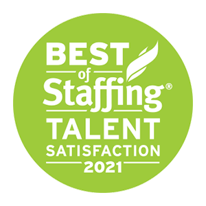 ClearlyRated's Best of Staffing Talent award